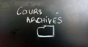 cours archivés